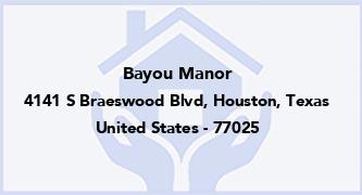 Bayou Manor