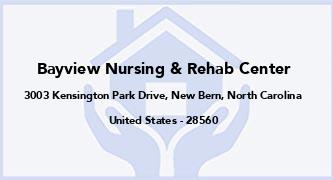 Bayview Nursing & Rehab Center