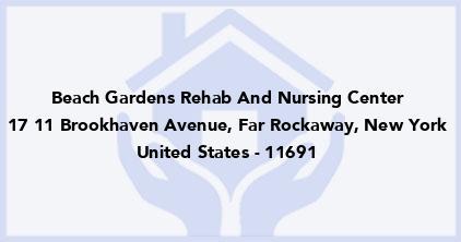 Beach Gardens Rehab And Nursing Center