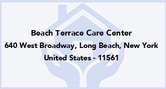 Beach Terrace Care Center