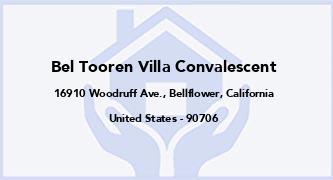 Bel Tooren Villa Convalescent