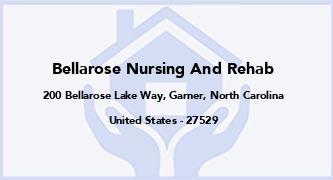Bellarose Nursing And Rehab