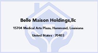 Belle Maison Holdings,Llc
