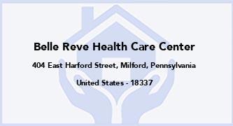 Belle Reve Health Care Center