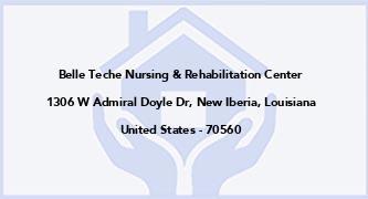 Belle Teche Nursing & Rehabilitation Center