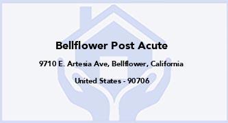 Bellflower Post Acute