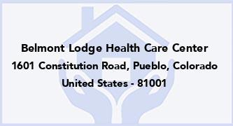 Belmont Lodge Health Care Center