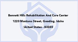 Bennett Hills Rehabilitation And Care Center