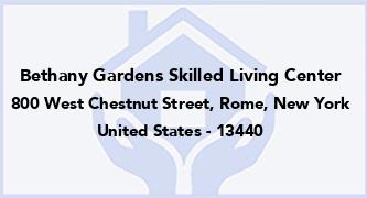 Bethany Gardens Skilled Living Center
