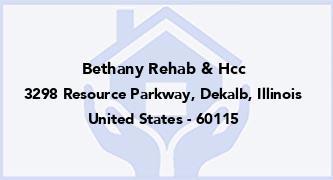 Bethany Rehab & Hcc