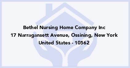 Bethel Nursing Home Company Inc