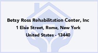 Betsy Ross Rehabilitation Center, Inc