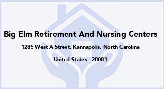 Big Elm Retirement And Nursing Centers