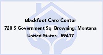 Blackfeet Care Center
