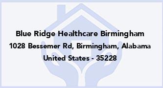 Blue Ridge Healthcare Birmingham
