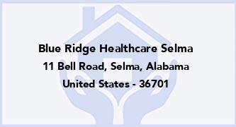 Blue Ridge Healthcare Selma