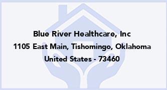 Blue River Healthcare, Inc