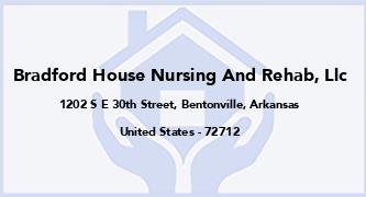 Bradford House Nursing And Rehab, Llc