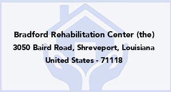Bradford Rehabilitation Center (The)