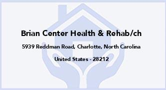 Brian Center Health & Rehab/Ch