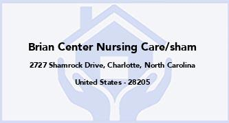 Brian Center Nursing Care/Sham