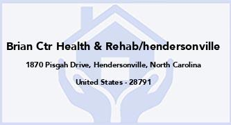 Brian Ctr Health & Rehab/Hendersonville