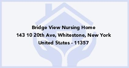 Bridge View Nursing Home