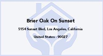 Brier Oak On Sunset