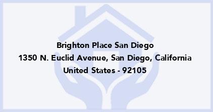 Brighton Place San Diego