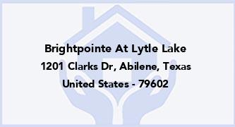 Brightpointe At Lytle Lake