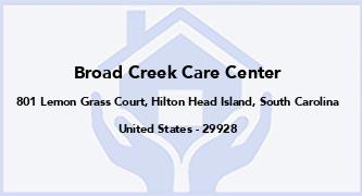 Broad Creek Care Center