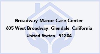 Broadway Manor Care Center