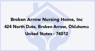 Broken Arrow Nursing Home, Inc