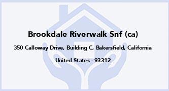 Brookdale Riverwalk Snf (Ca)