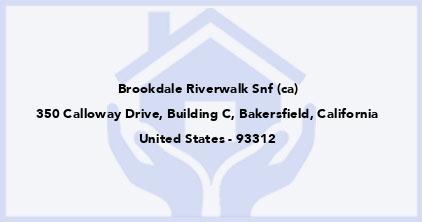 Brookdale Riverwalk Snf (Ca)