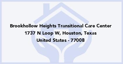 Brookhollow Heights Transitional Care Center