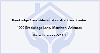 Brookridge Cove Rehabilitation And Care  Center