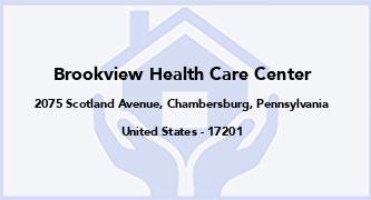 Brookview Health Care Center