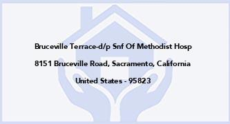Bruceville Terrace-D/P Snf Of Methodist Hosp
