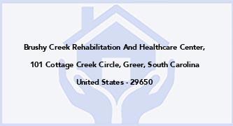 Brushy Creek Rehabilitation And Healthcare Center,