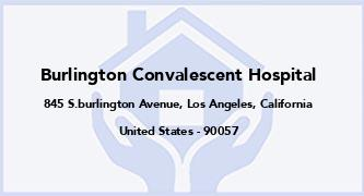 Burlington Convalescent Hospital