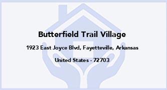 Butterfield Trail Village