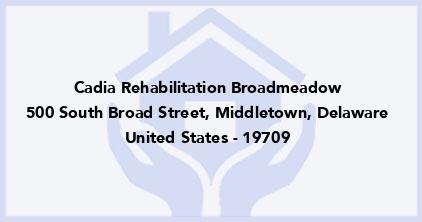 Cadia Rehabilitation Broadmeadow