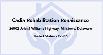 Cadia Rehabilitation Renaissance