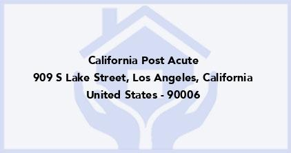 California Post Acute