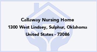 Callaway Nursing Home
