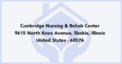 Cambridge Nursing & Rehab Center
