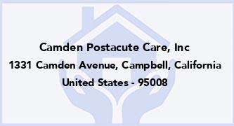Camden Postacute Care, Inc