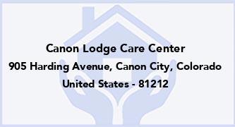 Canon Lodge Care Center