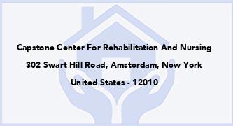 Capstone Center For Rehabilitation And Nursing